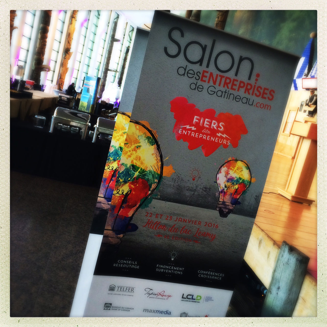 Salon des entreprises de Gatineau – Desrosiers Design Communications Marketing